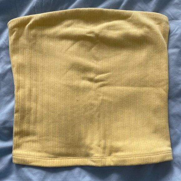 S Yellow tube top from American Eagle, never worn